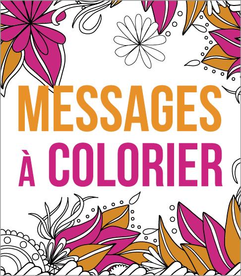 Messages à colorier