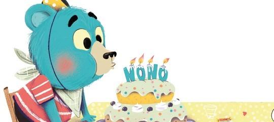Télécharge et personnalise tes invitations d'anniversaire avec Nono l'ourson