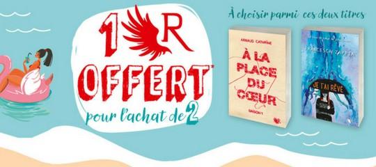 #UnRdEte : OpéRation 2 + 1 en librairie