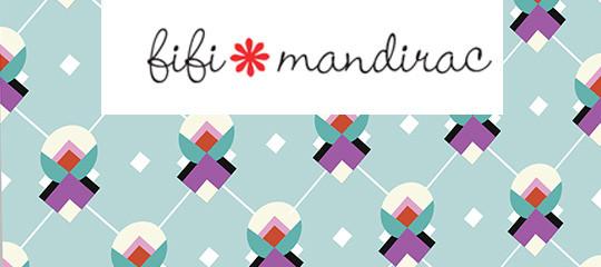 Fifi Mandirac met des couleurs dans notre quotidien