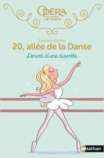 20, allée de la danse : L'envol d'une discrète - Roman dès 8 ans