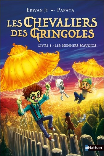 Les chevaliers des Gringoles - Les menhirs maudits - Dès 9 ans