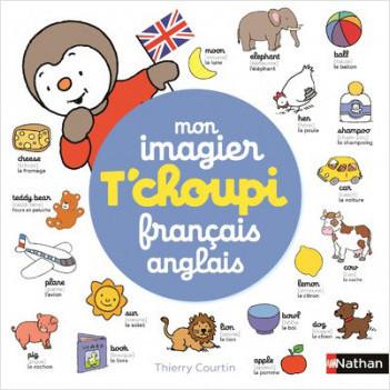 Mon imagier T'choupi français anglais - Dès 2 ans