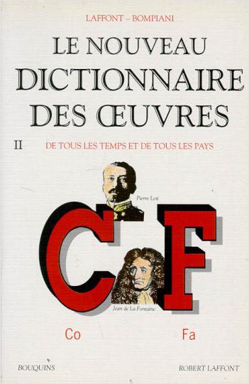 Le Nouveau Dictionnaire Des Oeuvres De Tous Les Temps Et border=