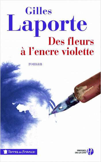 Des fleurs à l'encre violette