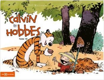 Calvin & Hobbes original T10