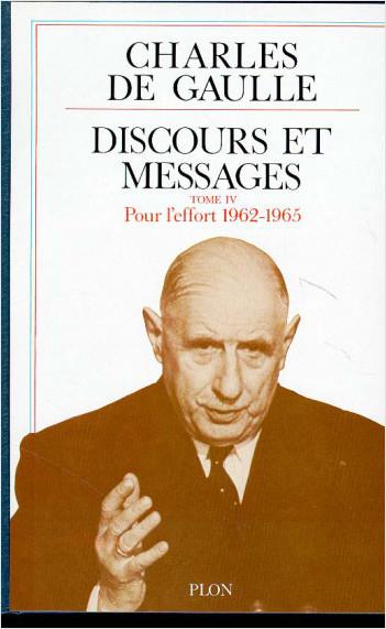 Discours et messages