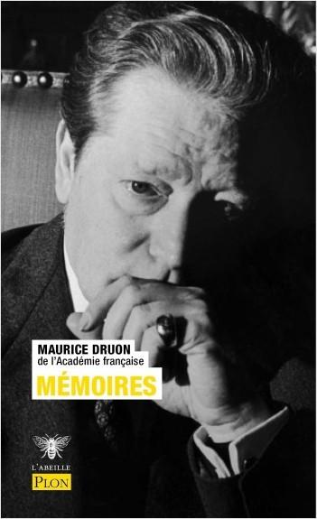 """Résultat de recherche d'images pour """"Maurice Druon, Mémoires, Plon"""""""""""