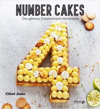 Les number Cakes : des gâteaux d'anniversaire renversants