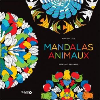 Black Coloriage Mandalas Animaux Lisez