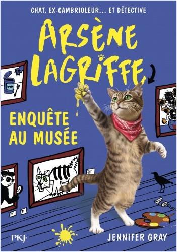 Arsène Lagriffe - tome 05 : Arsène Lagriffe enquête au musée