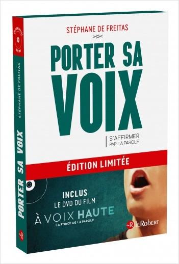 Coffret Porter sa voix + DVD du film