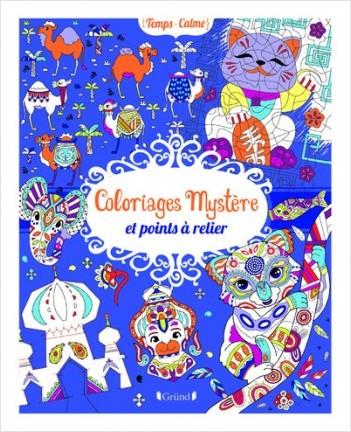 Coloriages mystère et points à relier