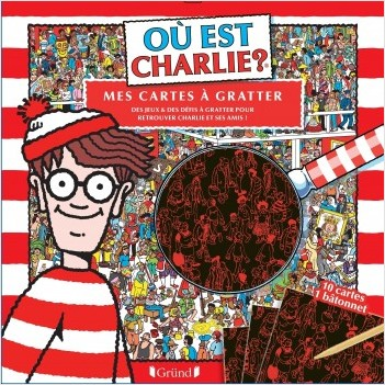 Où est Charlie ? Cartes à gratter