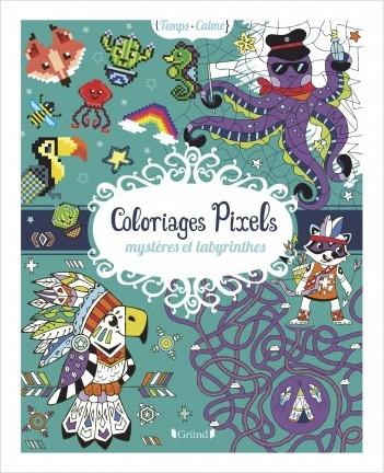 Coloriages Pixels Mystères Et Labyrinthes Lisez