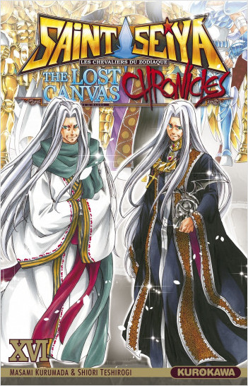 Saint Seiya - Les Chevaliers du Zodiaque  - The Lost Canvas - La Légende d'Hadès - Chronicles - tome 16