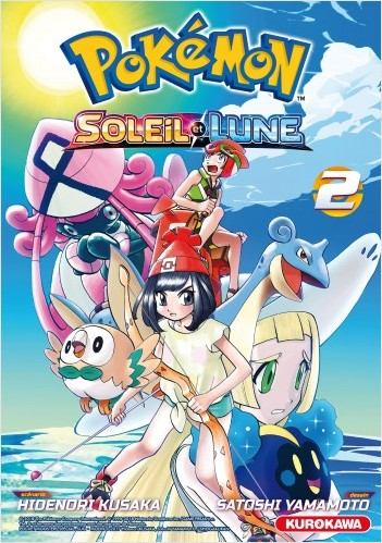 Pokémon - Soleil - Lune - tome 02