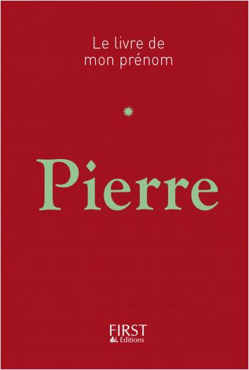 Le Livre de mon prénom - Pierre