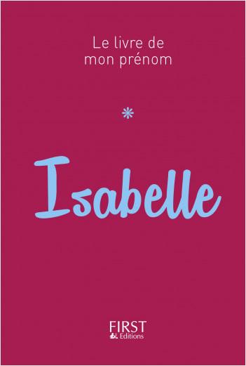Le Livre de mon prénom - Isabelle