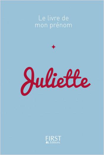 12 Le Livre de mon prénom - Juliette