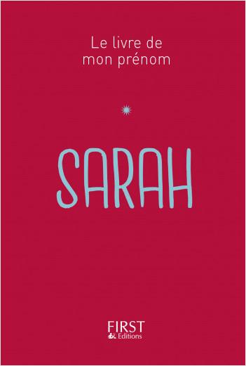 Le Livre De Mon Prénom Sarah Lisez