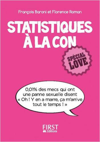 Petit Livre de - Statistiques à la con, spécial love