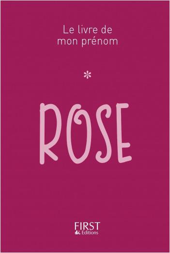 Le Livre de mon prénom - Rose