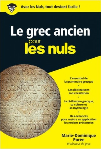 Le grec ancien pour les Nuls poche
