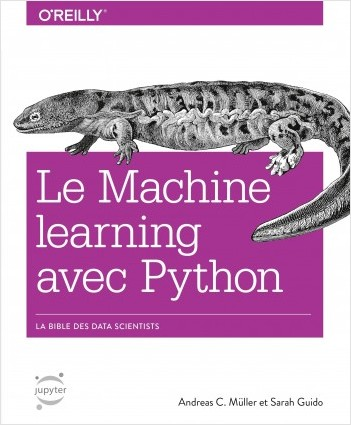 Machine learning avec Python - collection O'Reilly