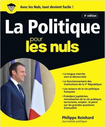 La Politique pour les Nuls, grand format 4e édition
