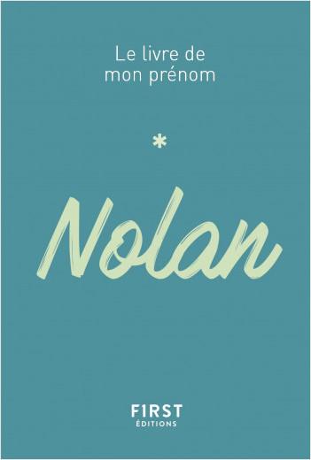 Le Livre de mon prénom - Nolan
