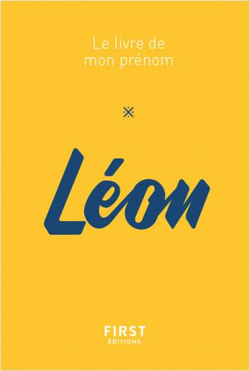 Le livre de mon prénom - Léon