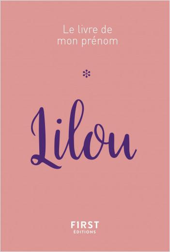 71 Le livre de mon prénom - Lilou