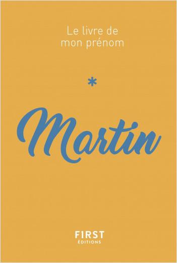 Le livre de mon prénom - Martin