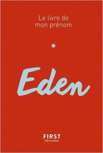 79 Le livre de mon prénom - Eden