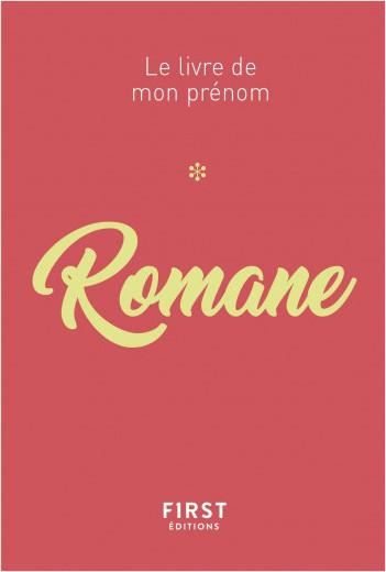 Le livre de mon prénom - Romane