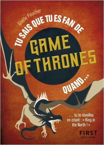 "Tu sais que tu es fan de Game of Thrones quand... - ... tu te réveilles en criant ""King in the north !"""