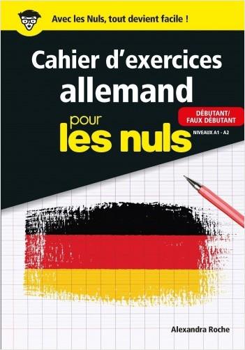 Cahier d'exercices allemand pour les Nuls