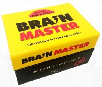 les petits JEUX D'APÉRO - Brain master - Le jeu d'apéro pour animer vos soirées!