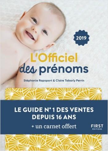 L'officiel des prénoms 2019 - 12 000 prénoms