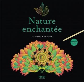 Cartes à gratter - Nature enchantée