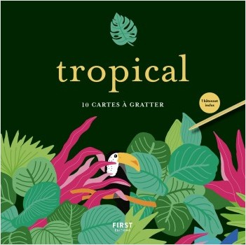 Tropical - 10 cartes à gratter