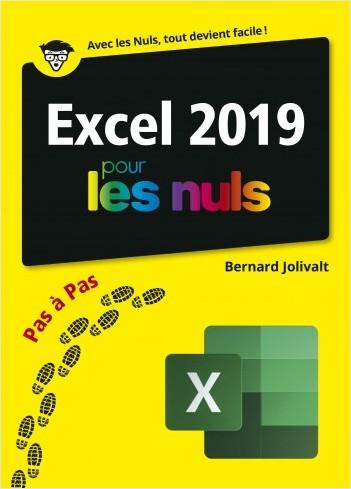 Excel 2019 pour les Nuls pas à pas