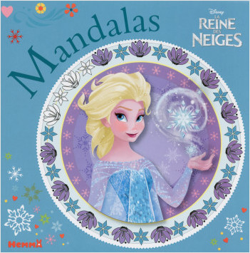 disney la reine des neiges mandalas - Disney La Reine Des Neiges