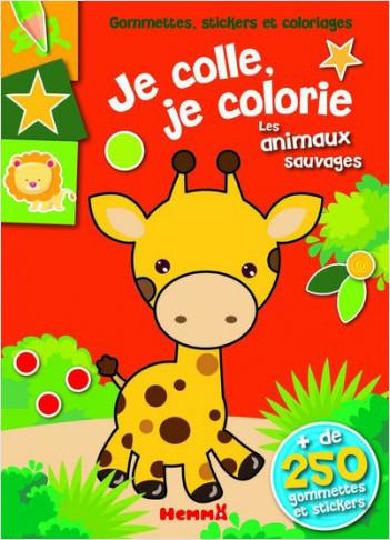 Coloriage Animaux Gommette.Gommettes Stickers Et Coloriages Je Colle Je Colorie