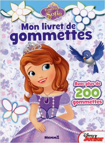 Princesse Sofia - Mon livret de gommettes