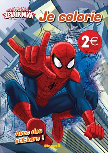 Marvel - Ultimate Spider-Man - Je colorie