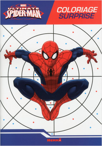 Marvel - Ultimate Spider-Man - Coloriage surprise