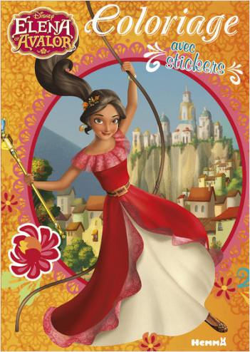 Disney Elena d'Avalor - Coloriage avec stickers