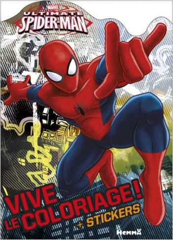 Marvel Ultimate Spider-Man - Vive le coloriage !